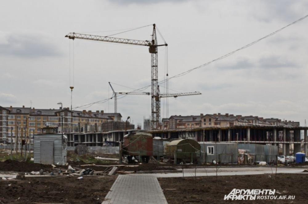 Уже введены в эксплуатацию два дома – 450 квартир.