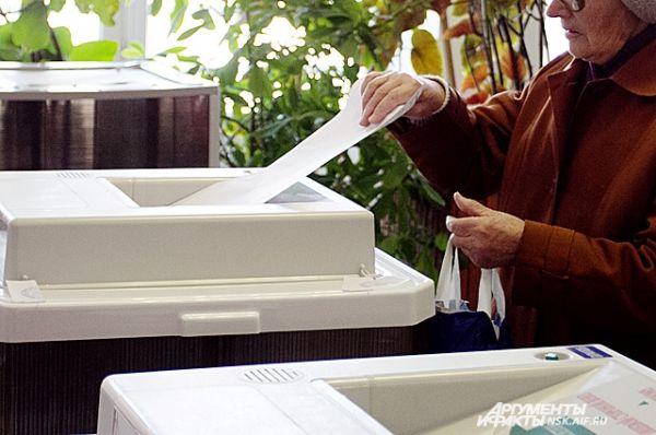 В 20.00 по местному времени работа избирательных участков прекратится.