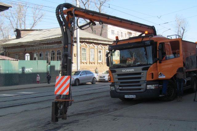 Ямочным ремонтом будет охвачено большинство улиц.