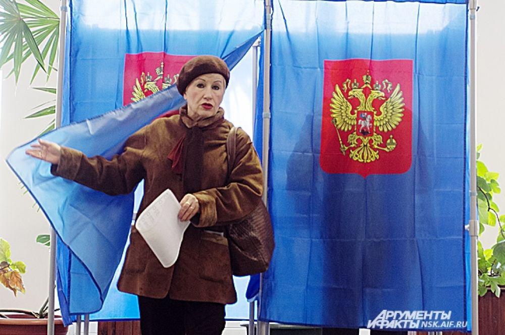 Более 24 % избирателей прогосоловало в Новосибирске в выборах мэра к 16.00