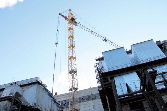 В Омске строят новую поликлинику.