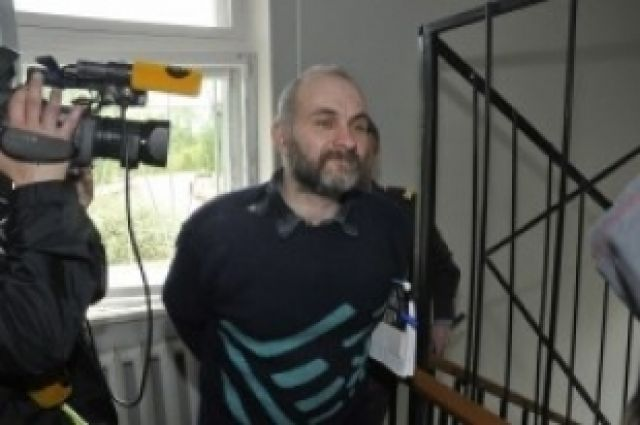 Анатолий Москвин в зале суда