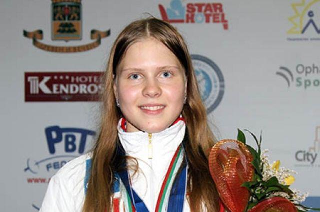 Алина Мосейко стала первой среди саблисток.