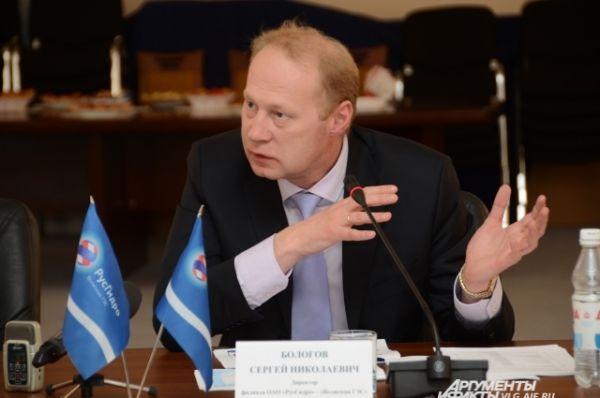 Директор филиала ОАО «РусГидро» — «Волжская ГЭС» — Сергей Бологов. Он родился в 1969 г. в городе Великий Устюг Вологодской области.