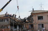 Разрушенный из-за взрыва дом восстановлению не подлежит.