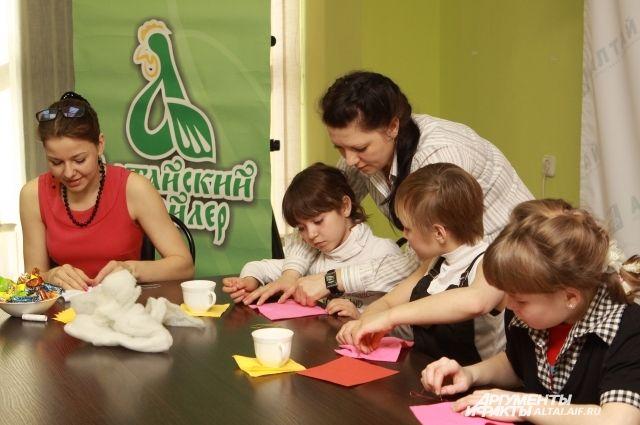 Мастер-классы для детей из интернатов