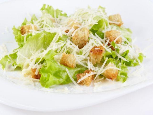 Рецепт салата цезарь фото