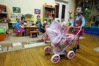 Воспитанники детского дома.
