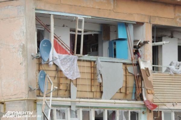 Взрыв бытового газа в поселке Конезаводский.