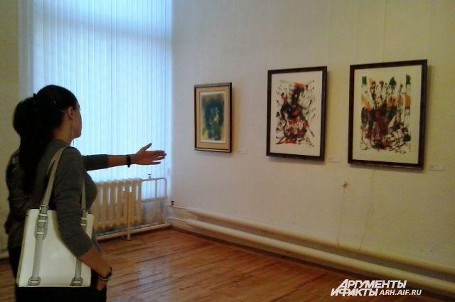 Выставка в музее ИЗО.