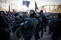 В Донецке решили отгородиться от власти майдана.