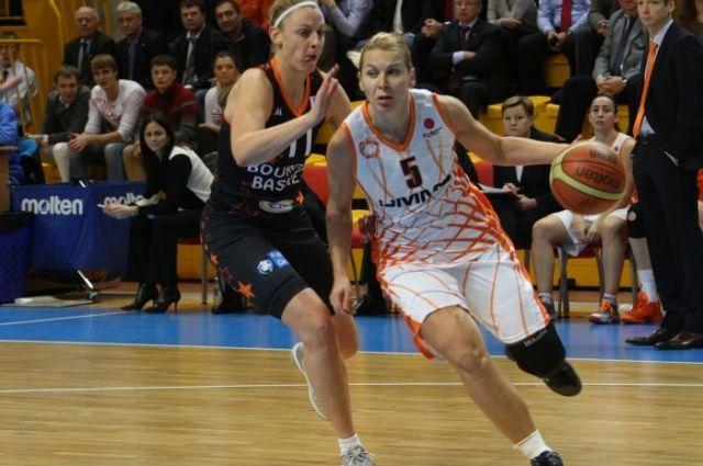Баскетболистки УГМК разгромили французский «Бурж» в Евролиге