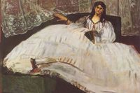 Портрет Жанны Дюваль работы Эдуара Мане, 1862 год.