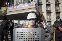 Ситуация в Донецке, где митингующие захватили здание областной администрации.