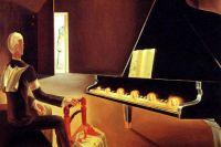Сальвадор Дали. Шесть видений Ленина на рояле. 1931 год.