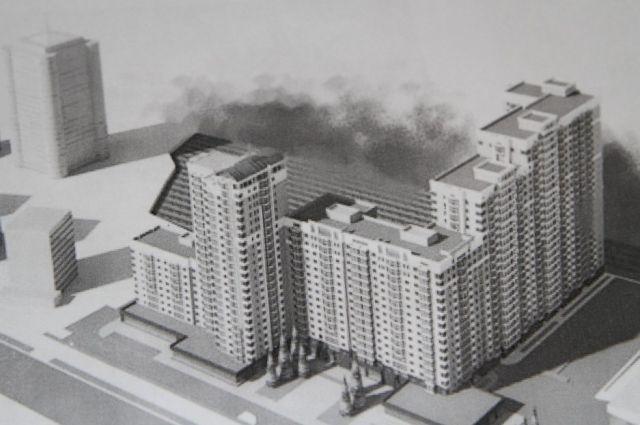 Проект планируемой застройки на Богдана Хмельницкого.
