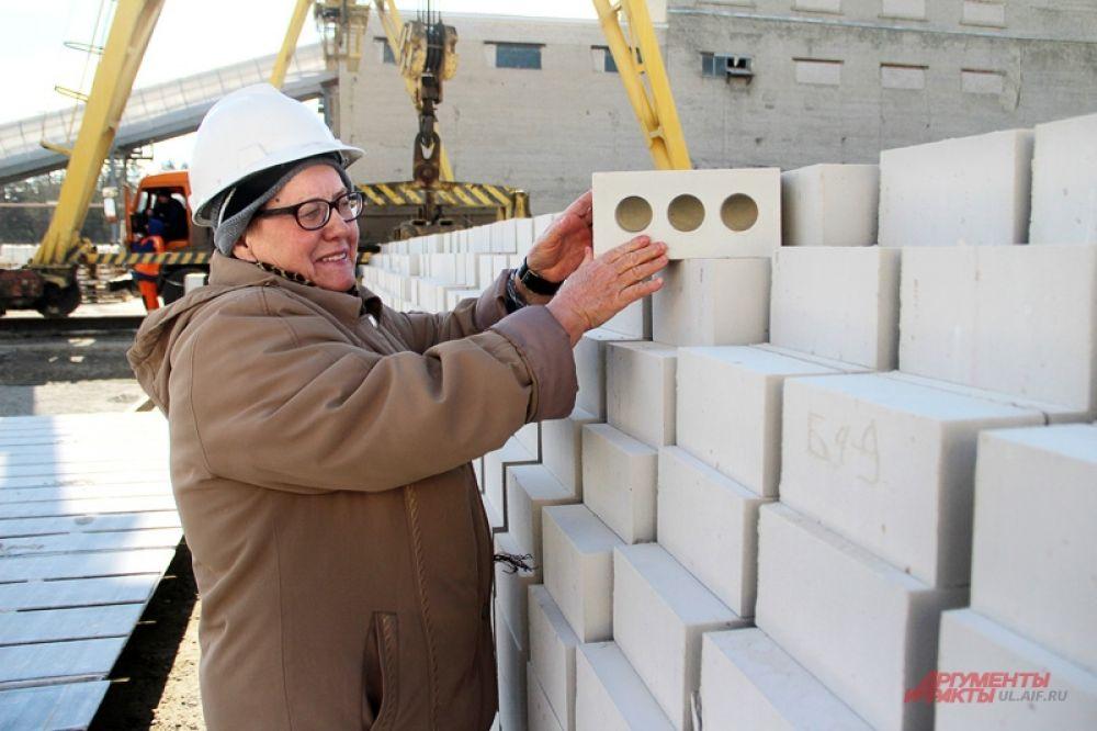 Главный инженер Светлана Еськова работает на заводе уже 22 года.
