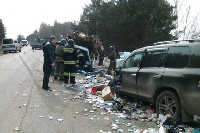 Жертв в аварии могло быть больше.