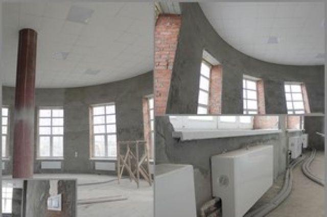 В Омске идёт строительство «Птичьей гавани».