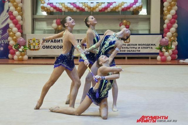 Кубок губернатора по художественной гимнастике пройдет в выходные в Омске.