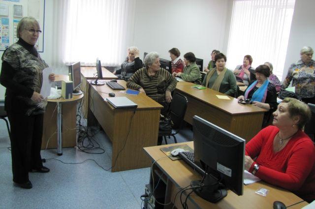 Компьютерные курсы для пенсионеров организовала компания «Ростелеком».