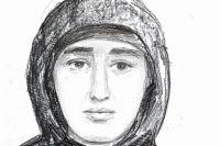 С помощью гипноза был нарисован портрет подозреваемого.