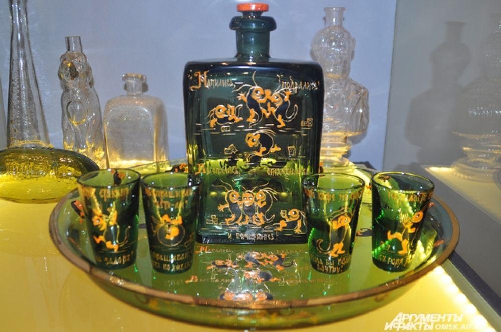 В Омске открылась выставка стекла и хрусталя «Хрустальный дворец».
