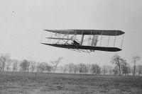 Полёт Орвила Райта в 1904 году.