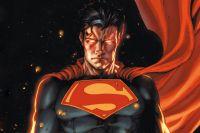 Фрагмент иллюстрации к обложке графического романа «Супермен: Земля-1».