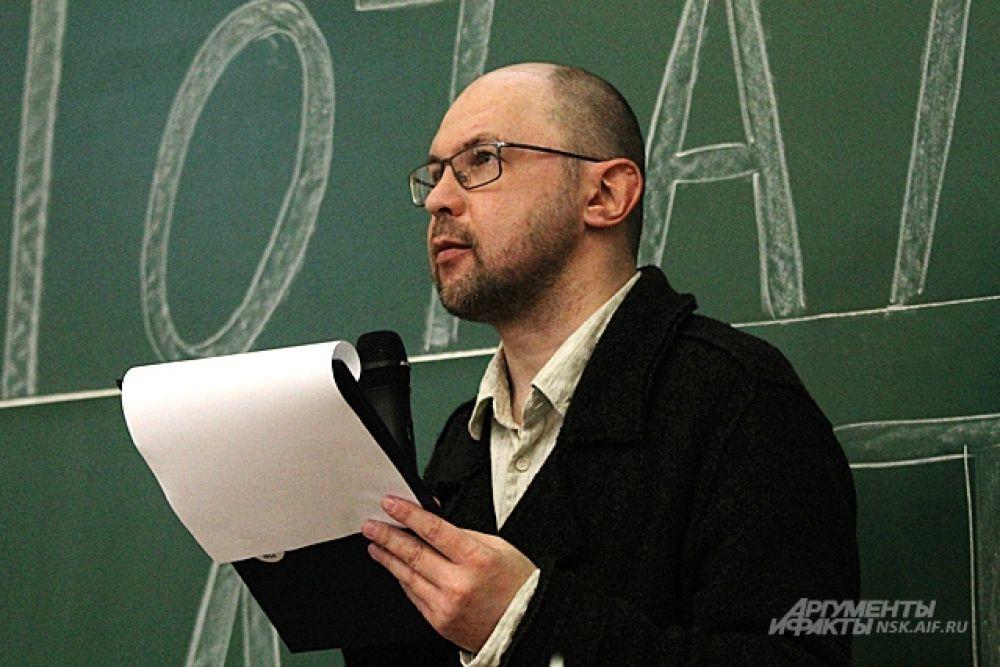 В этом году автором текста стал писатель Алексей Иванов.