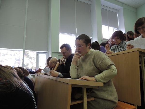 Тотальный диктант в Омске.