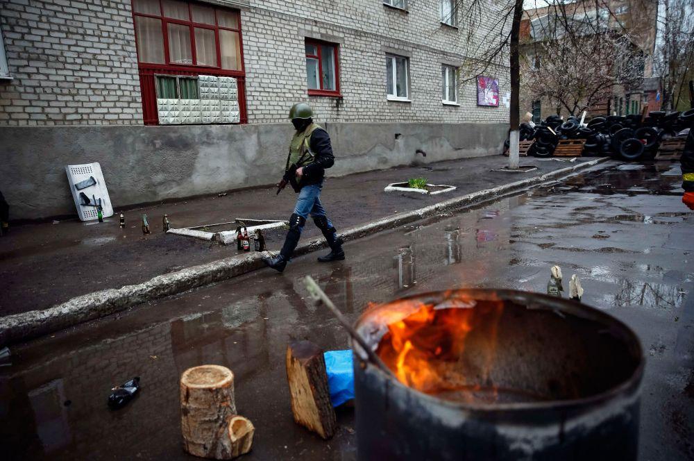 Некоторые СМИ сообщили о перестрелках в посёлке Андреевка Донецкой области.
