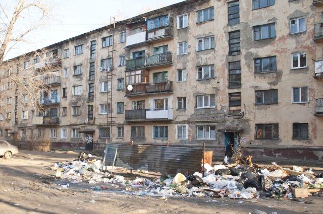 Много домов в Омске ждут капремонта.