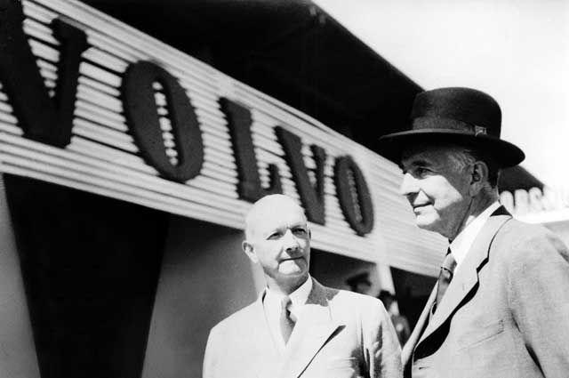 Создатели автомобильной компании Volvo Ассар Габриэльссон и Густав Ларсон.