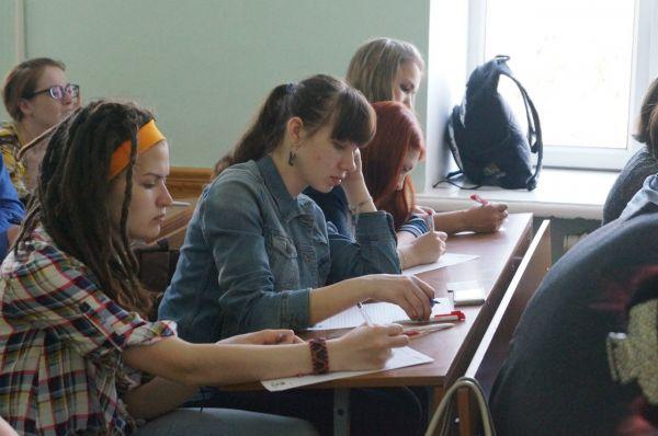 Тотальный диктант стостоялся одновременно на 6 площадках в Иркутске.