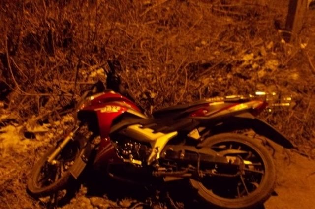Водитель и пассажир мотоцикла погибли в результате аварии.