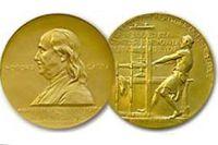 Золотая медаль. Пулитцеровская премия.
