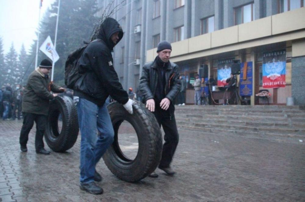 Сепаратисты в Макеевке
