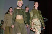 Выступление Ирины Бумагиной в театре мод «ОбраZ».