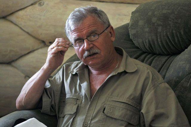 Актер и режиссер Сергей Никоненко.