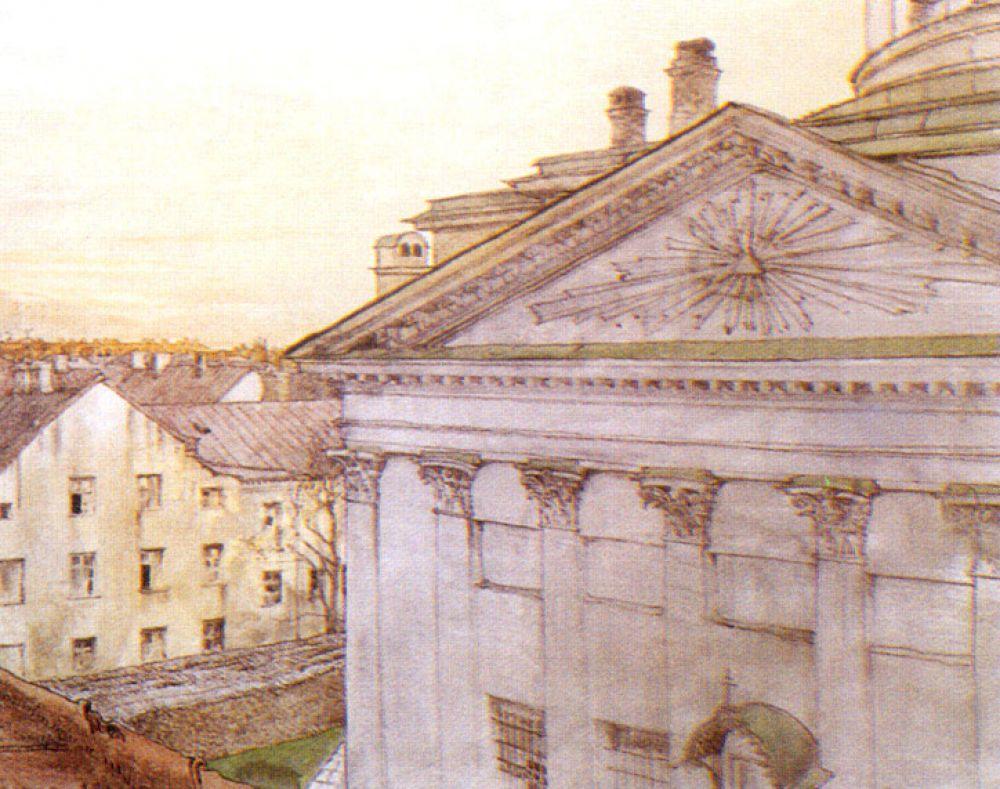 Затем Александр поступил в Академию художеств, но вскоре бросил её, хотя и продолжил учиться живописи.