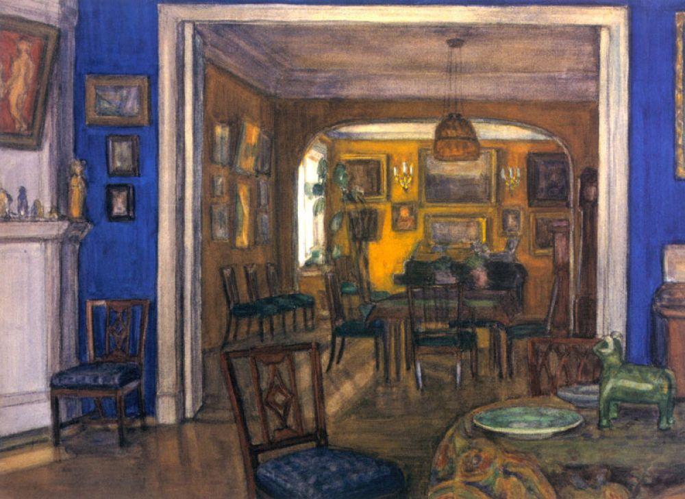 К 1904 году активная деятельность «Мира искусства» значительно изменилась – в объединение входило всё больше художников, в связи с чем их работы лишились единого эстетического вектора.