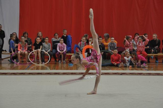 Омские спортсменки стали лучшими в художественной гимнастике.