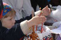 Пасхальные представления, игры и мастер-классы подготовили для детей.