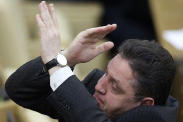 Один из авторов инициативы отмены мэрских выборов, депутат Вячеслав Тимченко.