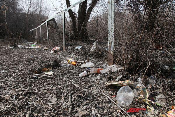 Чтобы вывести на чистую воду недобросовестных чиновников, Борис Дубровский предложил жителям региона присылать фотографии разрухи в муниципалитетах. Переулок Мамина
