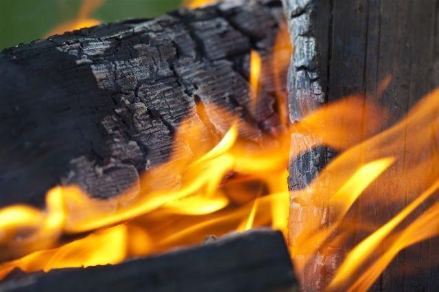 Мальчик получил ожоги от открытого огня.