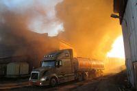 Крупный пожар обошелся без человеческих жертв.