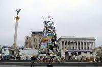 Майдан Незалежности в Киеве.