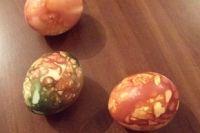 Это самый экологичный способ окраски яиц.